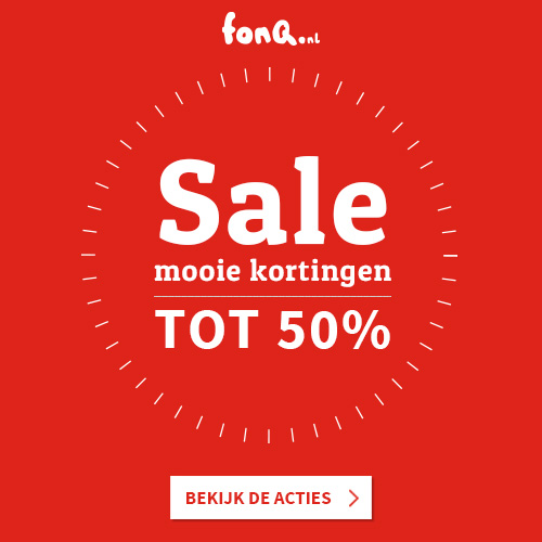 Sale van de week